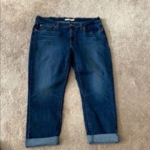Levi's boyfriend jeans stretch size 31